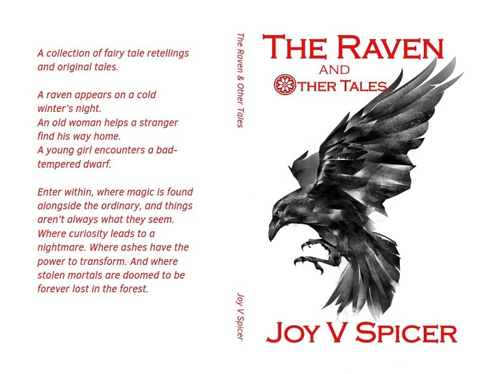 Cover of 'The Raven and Other Stories' - my 4th book