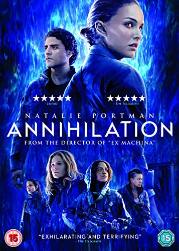 'Annihilation' - DVD release cover