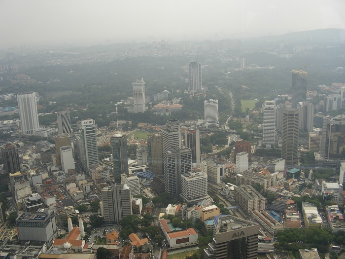 View of KL (own photo, taken 2013)