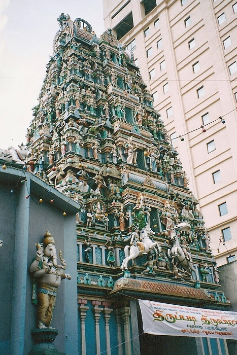 Sri Mahamariamman Temple (own photo)
