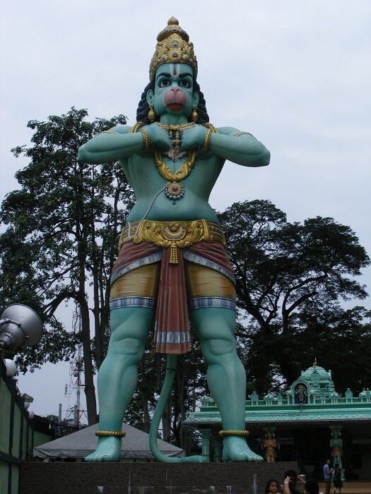 Statue of Hanuman at Batu Caves