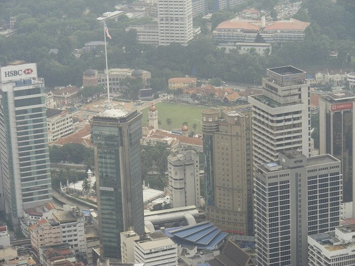 View of Merdeka Square taken from KL Tower