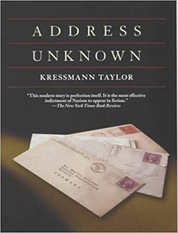 Book cover - 'Address Unknown'