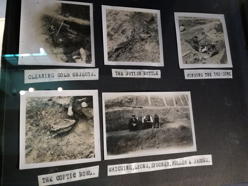 Photos of the dig