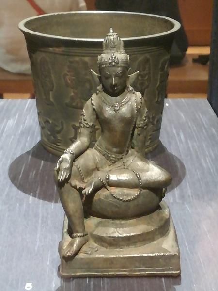 Bodhisattva Manjusri