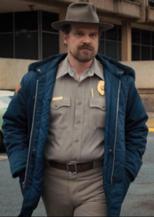 Jim Hopper (played by David Harbour)
