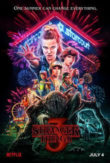 'Stranger Things 3' poster