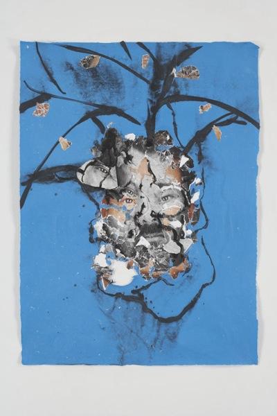 Hanging Blue Man, 2007