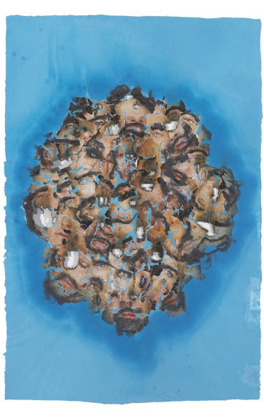 The Blue Period Drawings #5, 2008