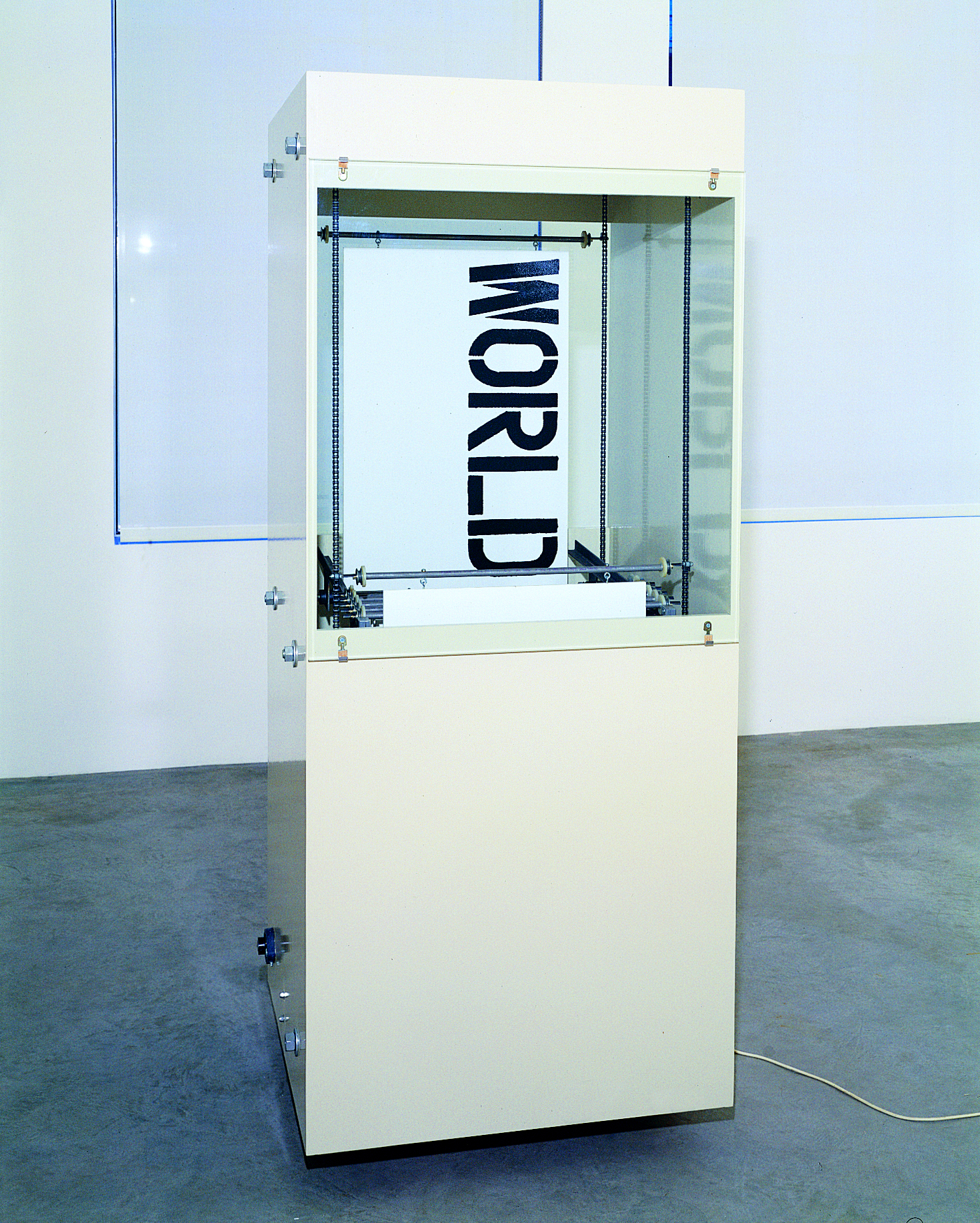 Word Box (with Christopher Wool and Paul Auster), 1991