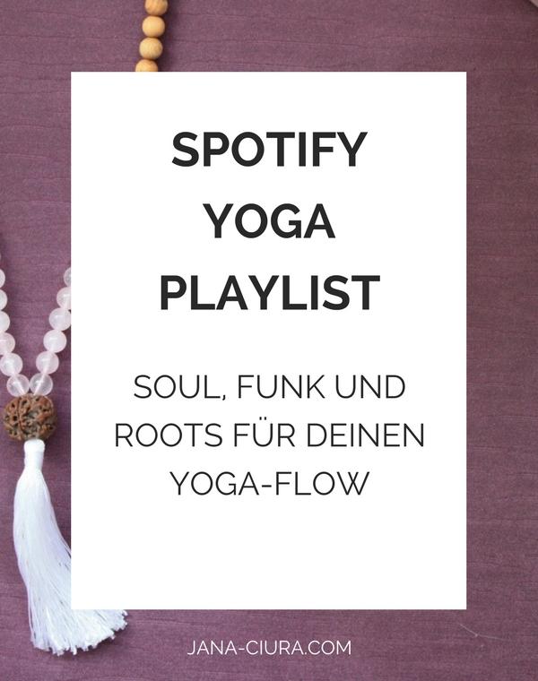 Spotify Yoga Playlist: Sould, Funk und Roots für deinen Yoga-Flow