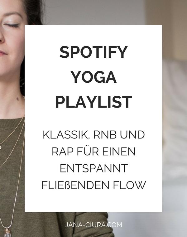 Spotify Yoga Playlist: Klassik, RnB und Rap für einen fließenden Flow bei dir zuhause