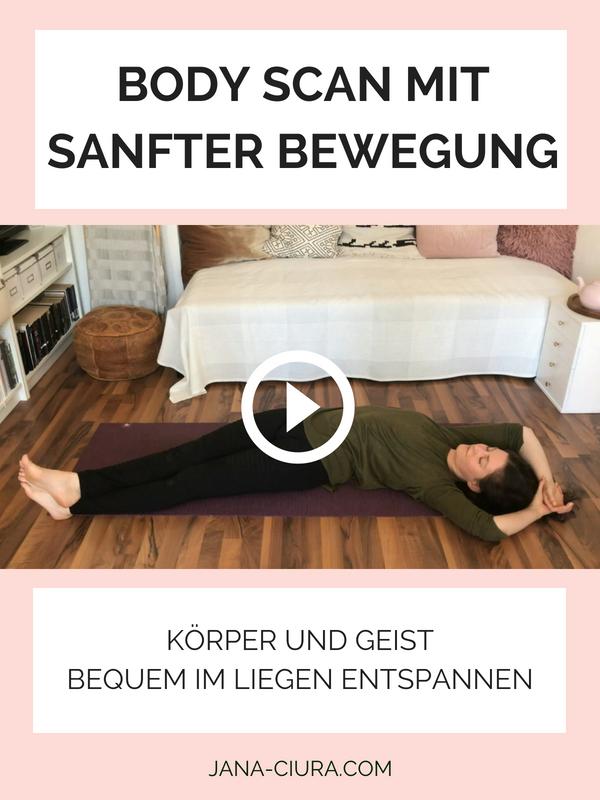 EntBody Scan mit Bewegung, um im Liegen zu entspannen - YouTube Video