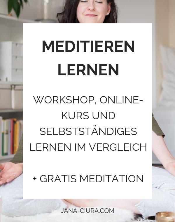 Wie kann man am besten meditieren lernen? - Zum Blogpost