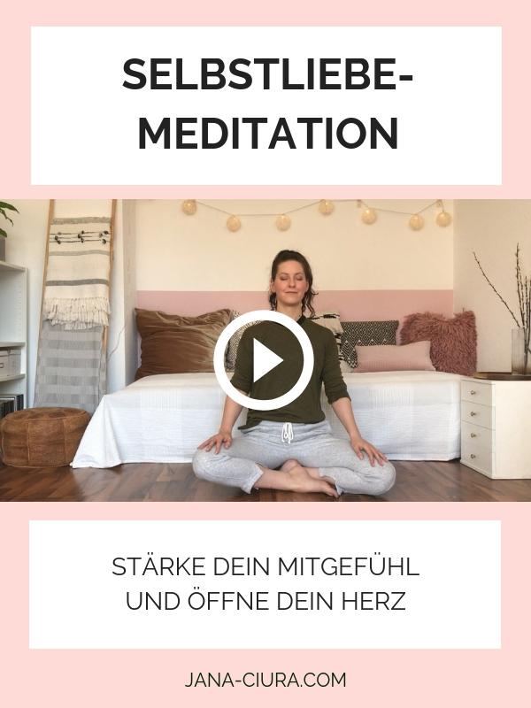 Geführte Meditation für Selbstliebe und Herzöffnung - YouTube Video