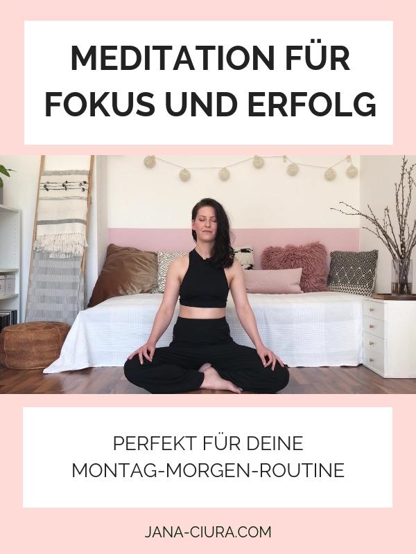 Meditation für Erfolg und Fokus bei der Arbeit - YouTube Video