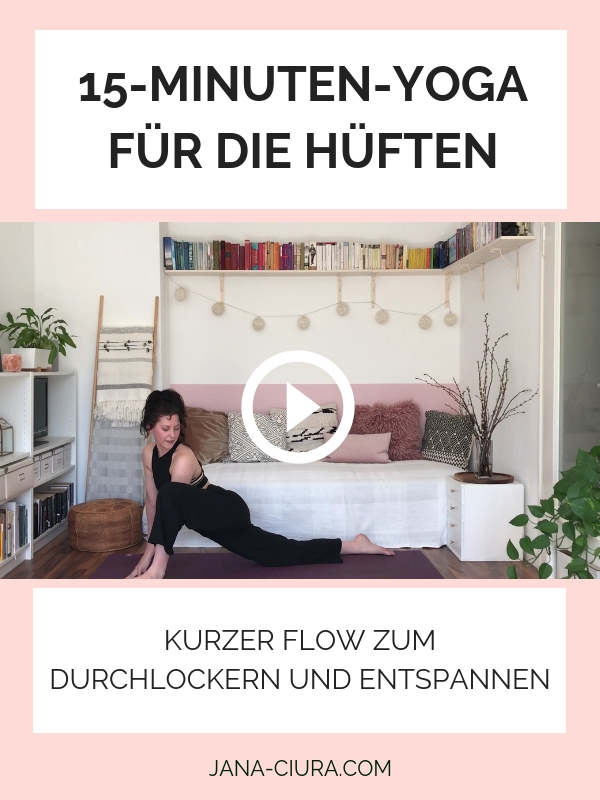 Yoga zur Hüftöffnung - YouTube Video