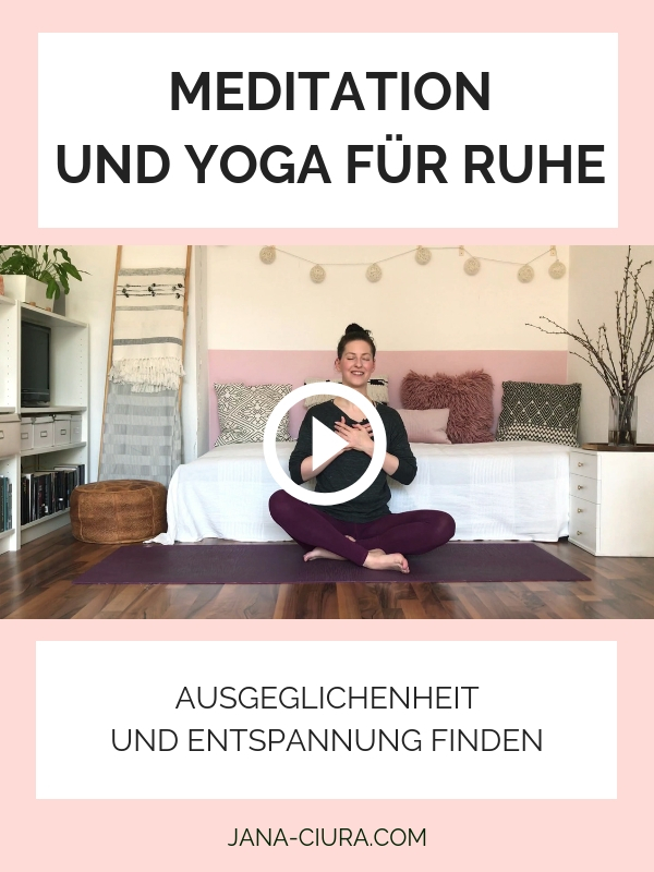 Yoga und Meditation zur Entspannung - YouTube Video