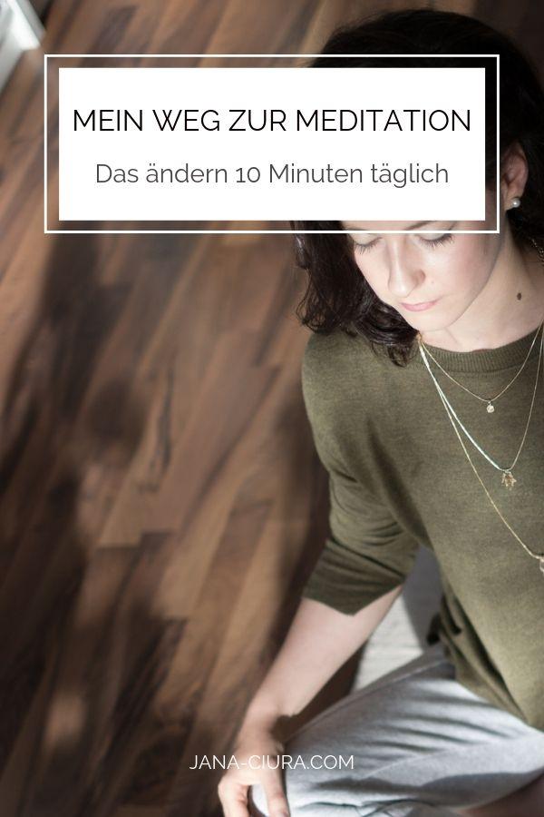 Blog Post Titel: Meine Erfahrung mit täglicher Meditation und Vorteile der Meditation