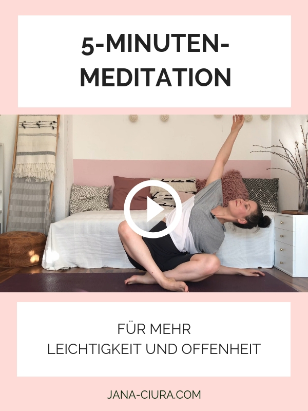 Kurze Meditation für Leichtigkeit und Offenheit - YouTube Video