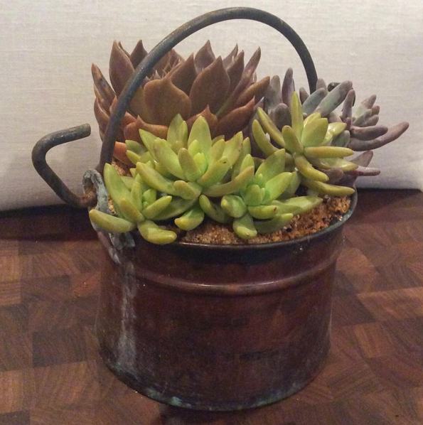 VINTAGE COPPER PAIL