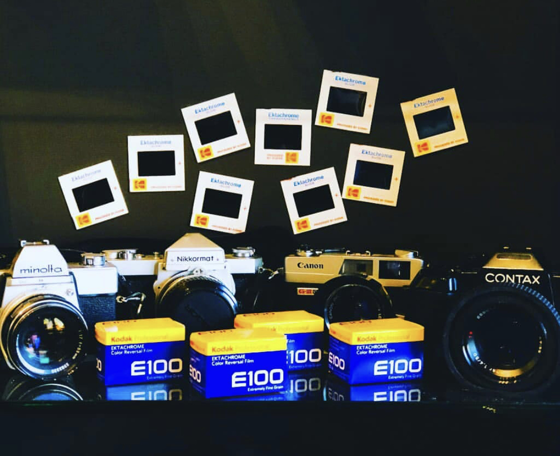 Ektachrome for your vintage Summer daydreams!