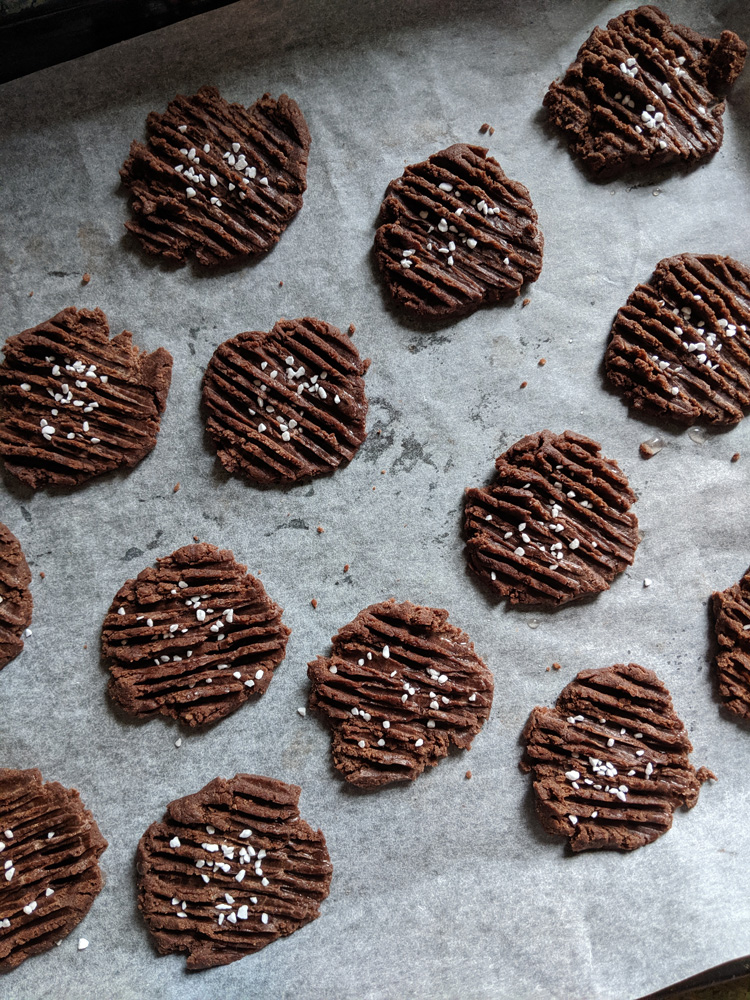 Recipe for ultimate cocoa biscuits