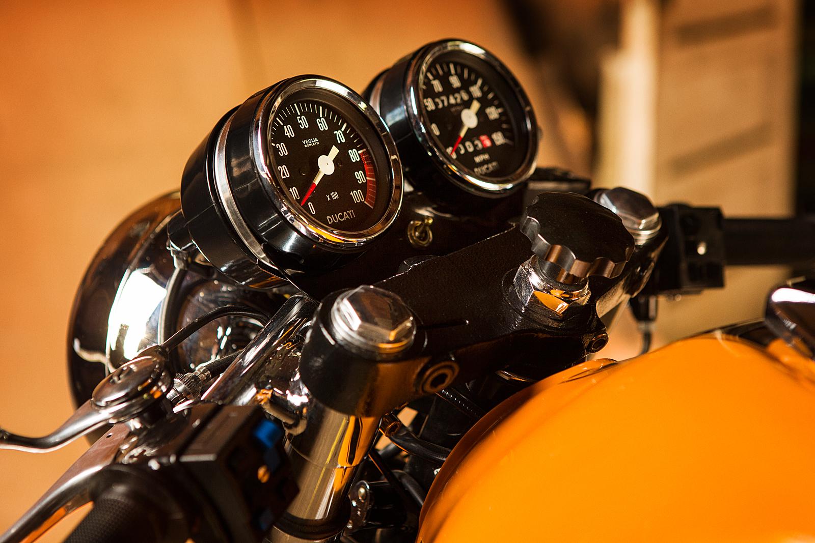 1974 Ducati 750S Sport speedometre VEGLIA