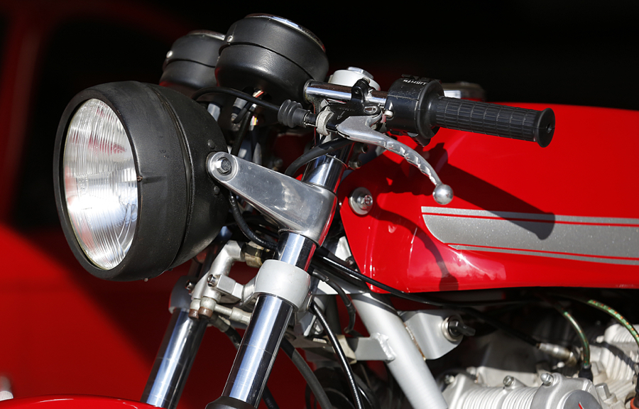 1977 MV Agusta 750 America headlight