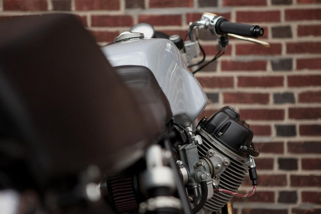 Moto Borgotaro Guzzi 850T Custom