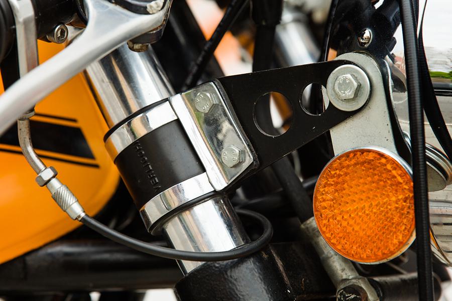 1974 Ducati 750S forks