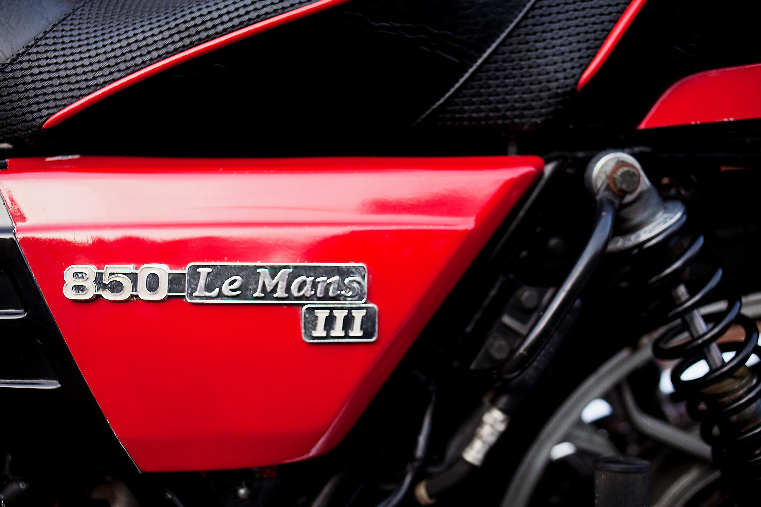 Moto Guzzi Lemans 3 Side Cover