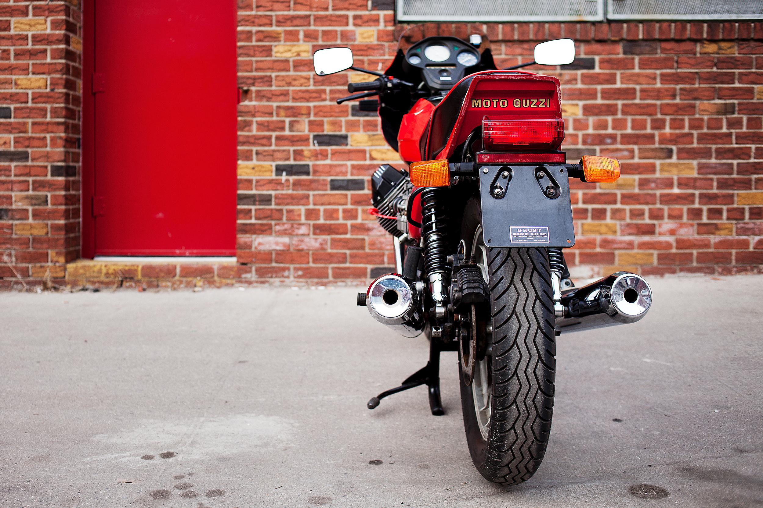 1983 Moto Guzzi Lemans 3 Tail