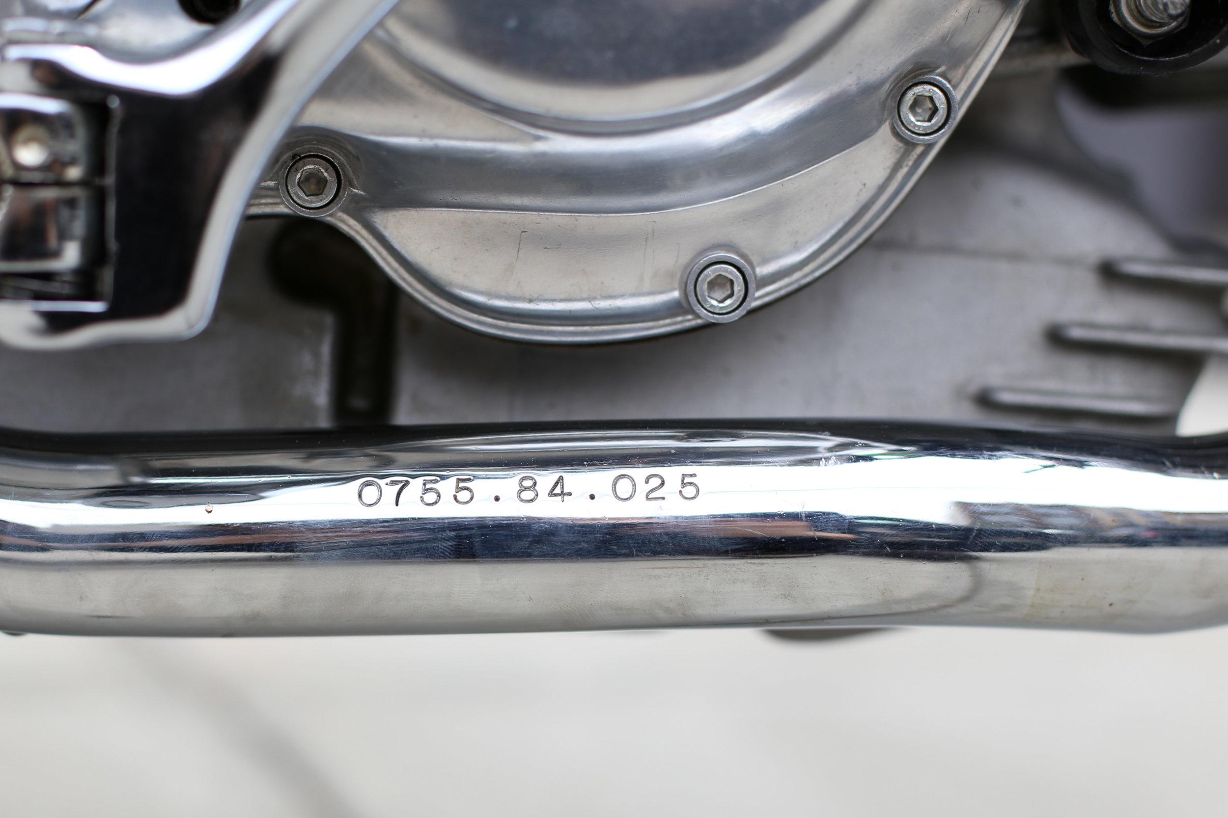 1974 Ducati 750S Exhaust