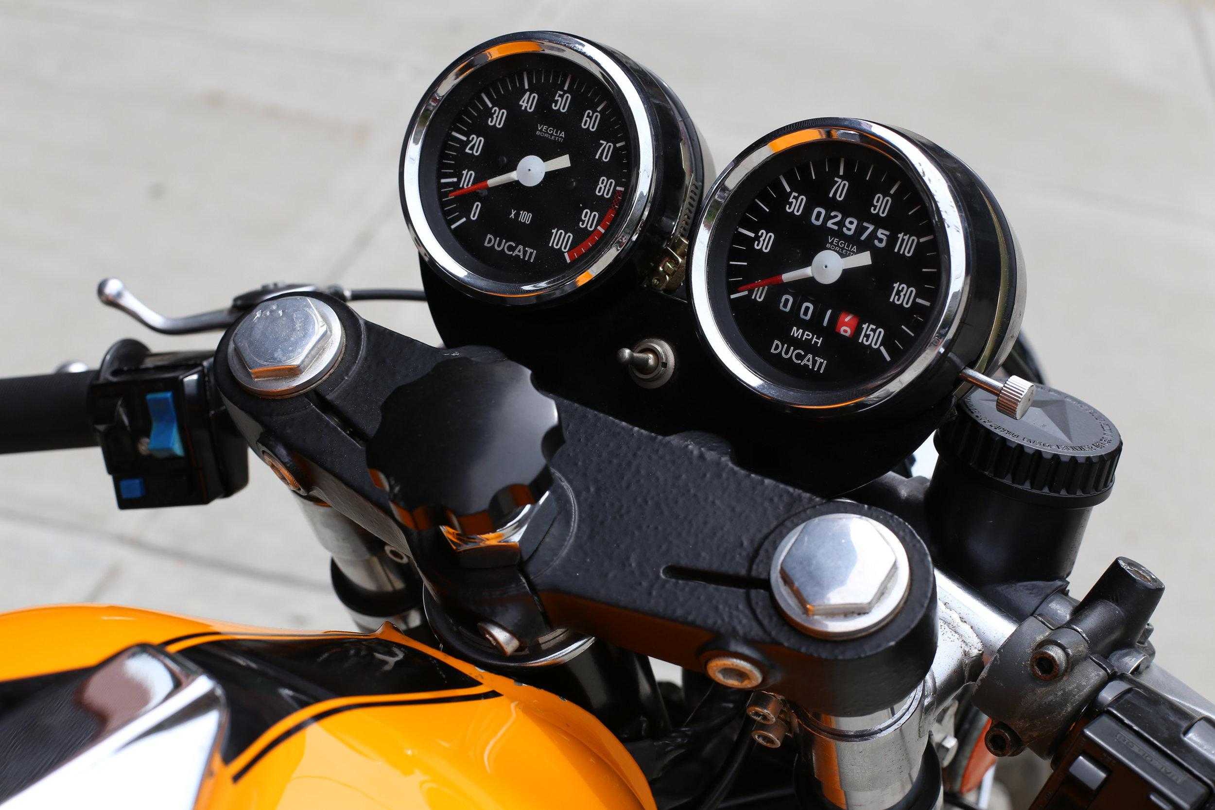 1974 Ducati 750S Gauge