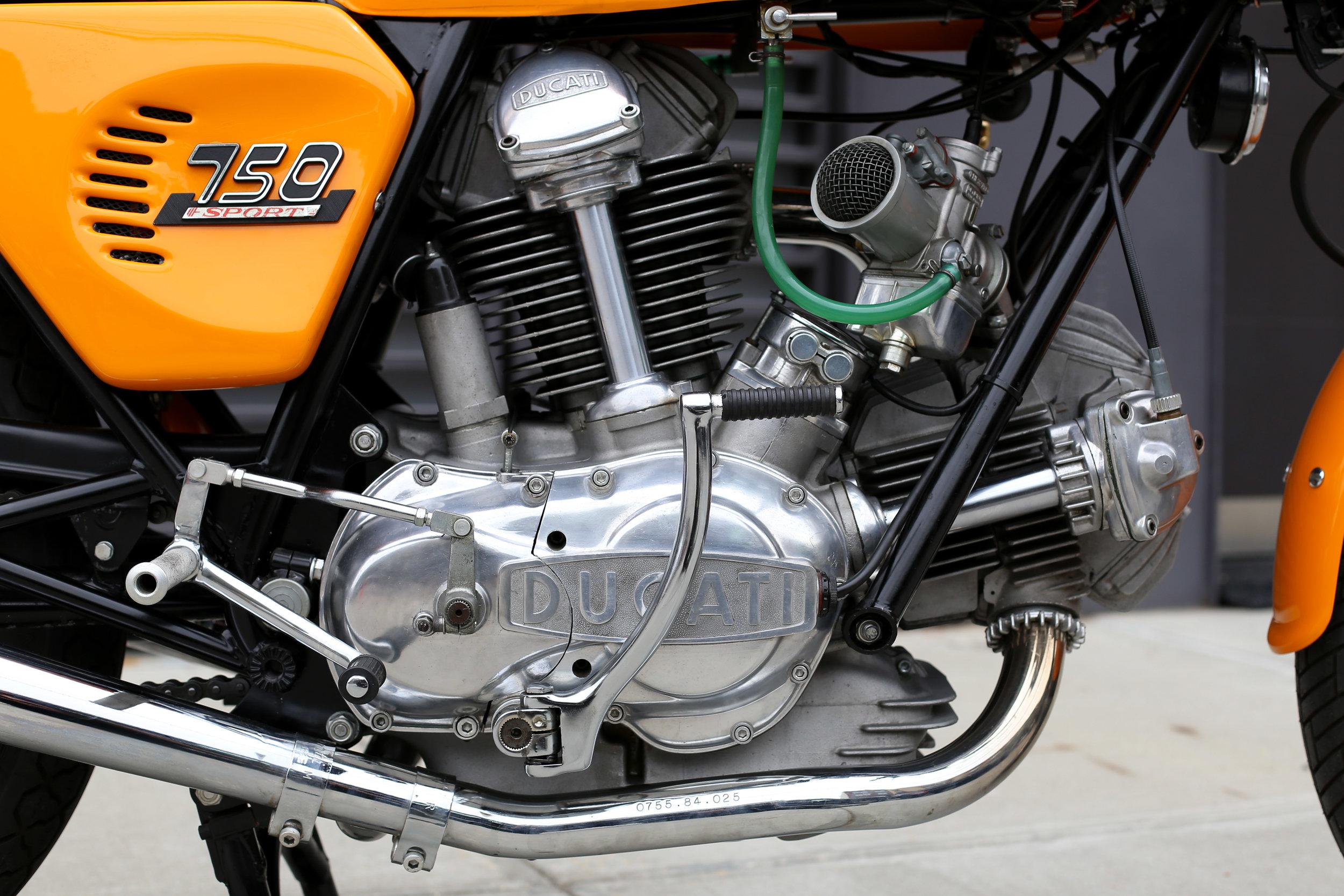 1974 Ducati 750S Motor