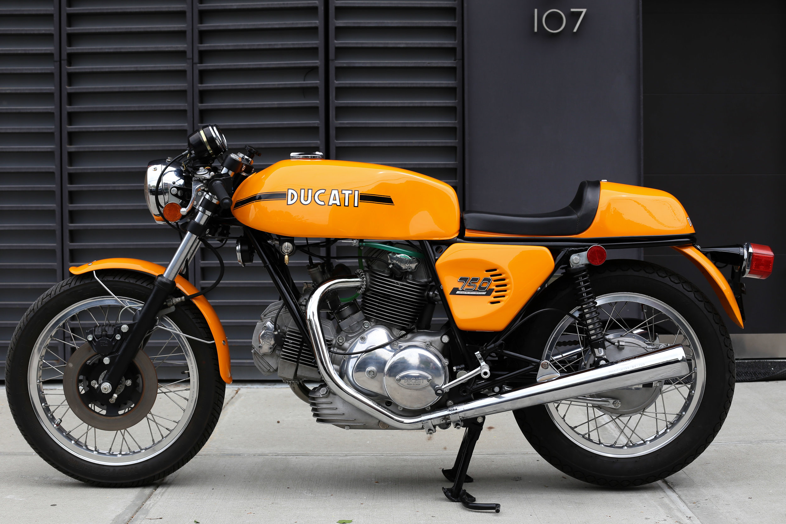 1974 Ducati 750S Left Side