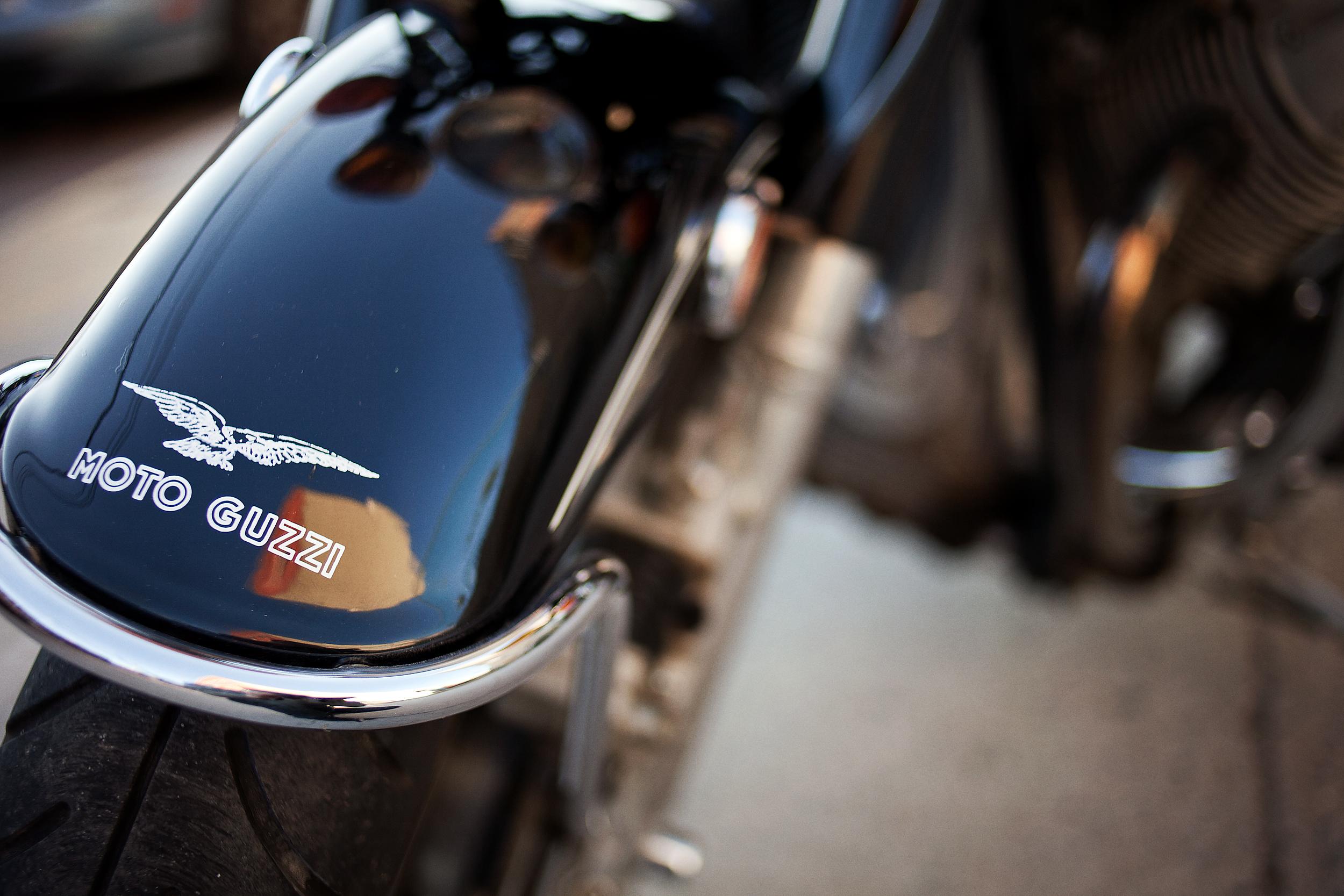 Moto Guzzi Eldorado Fender