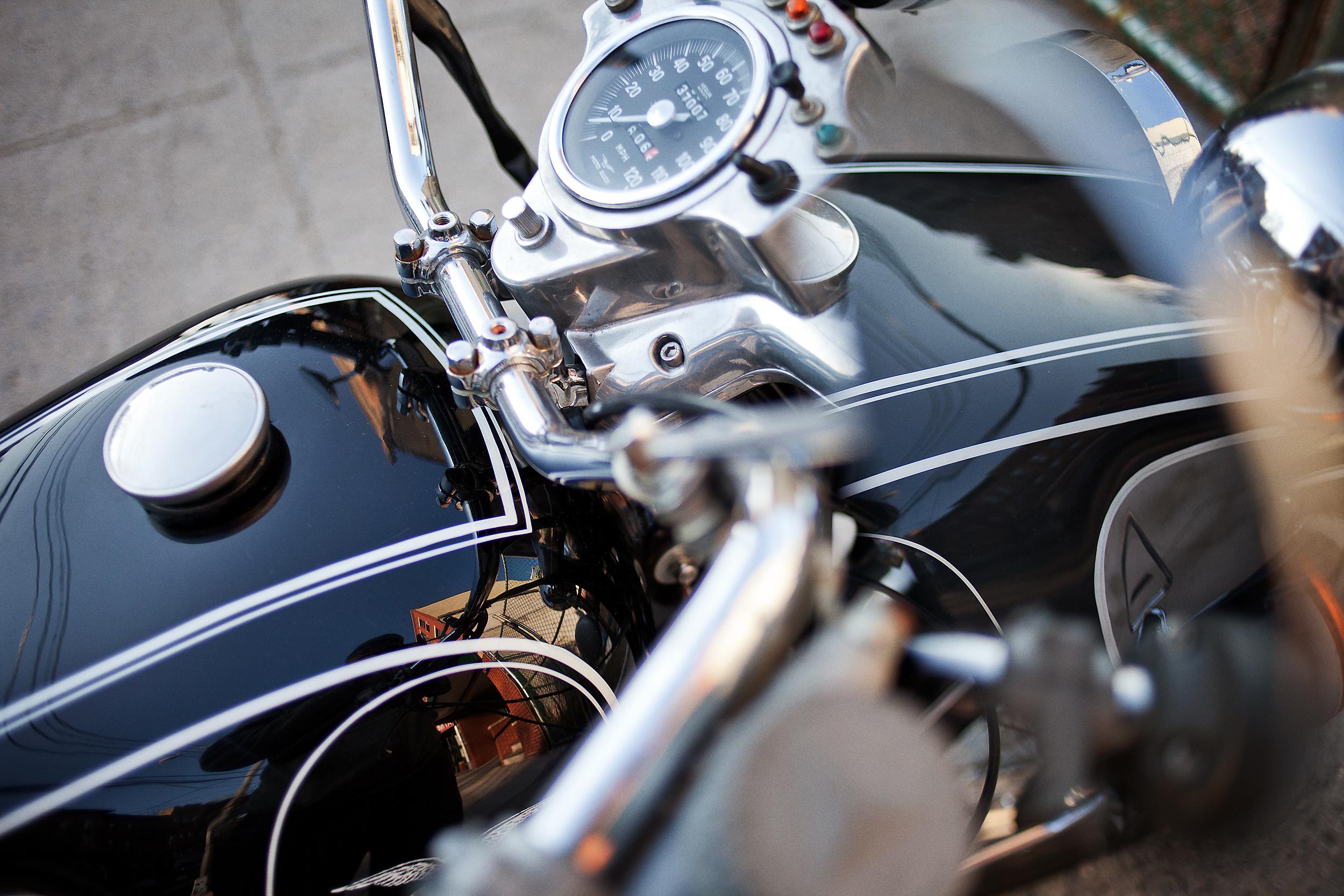 Moto Guzzi Eldorado Mirror