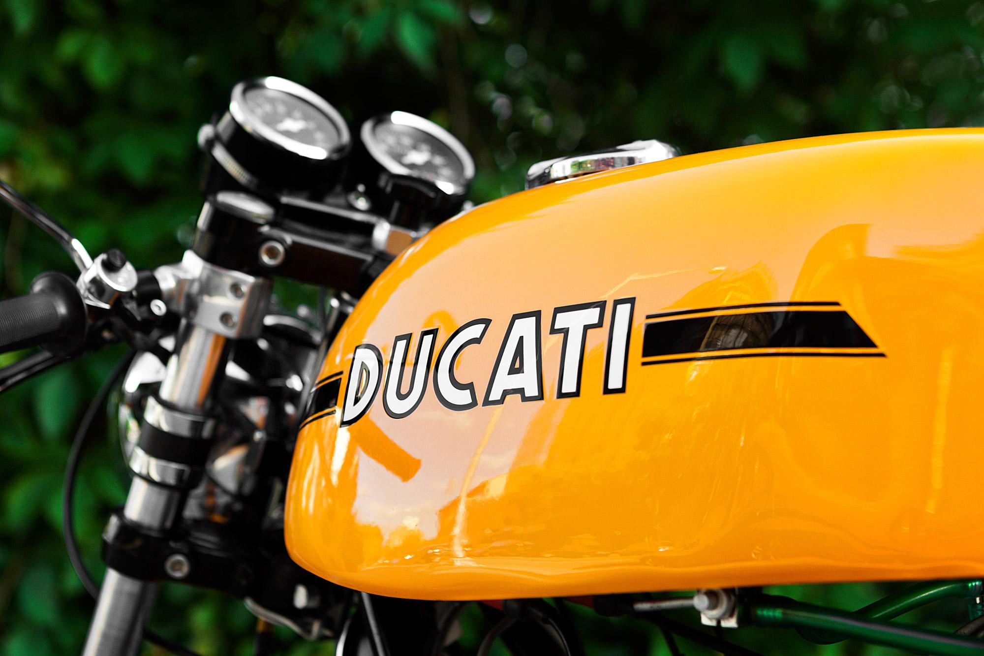 1974 Ducati 750S Tank