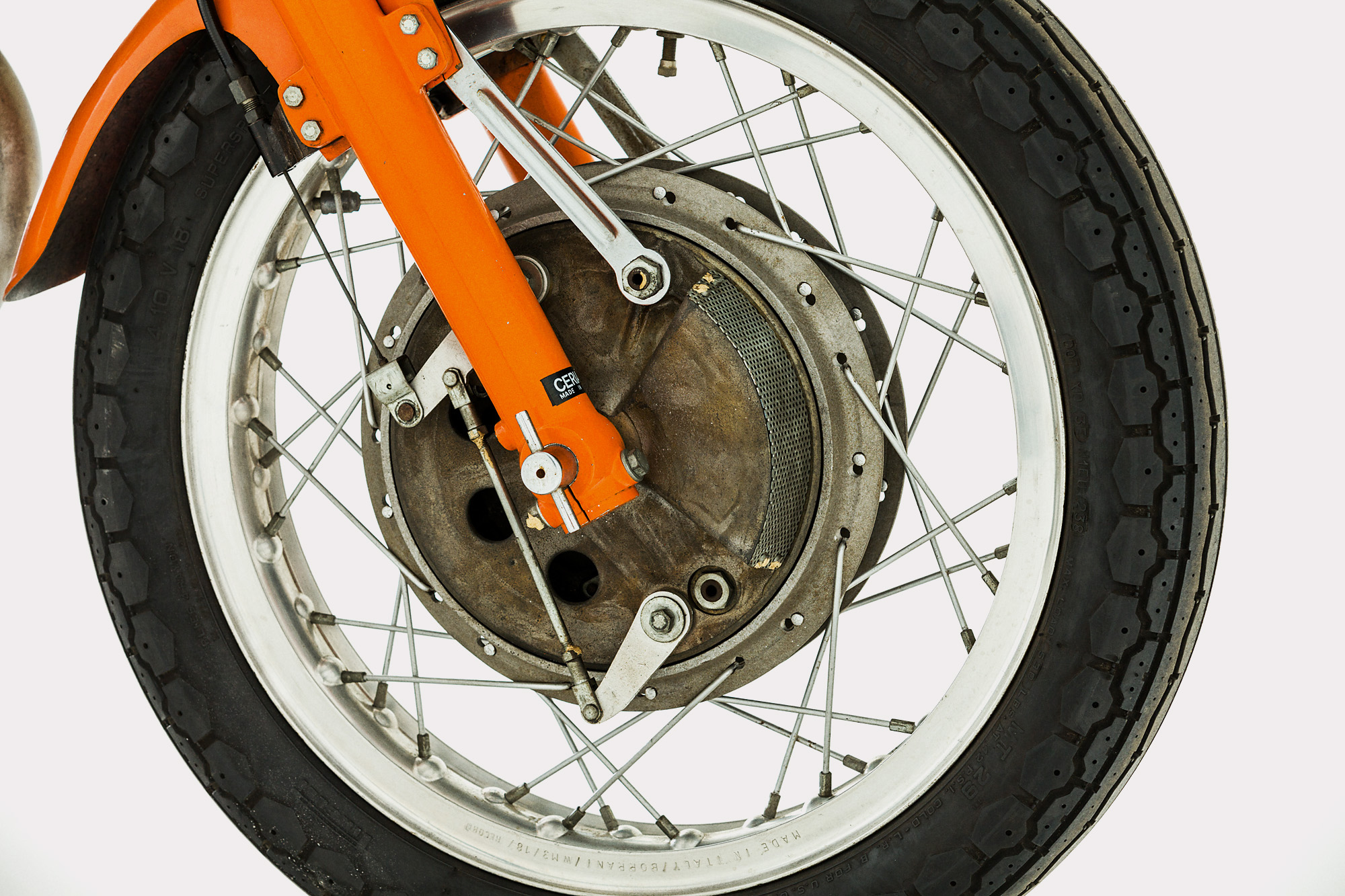 laverda sfc front drum brake 1972