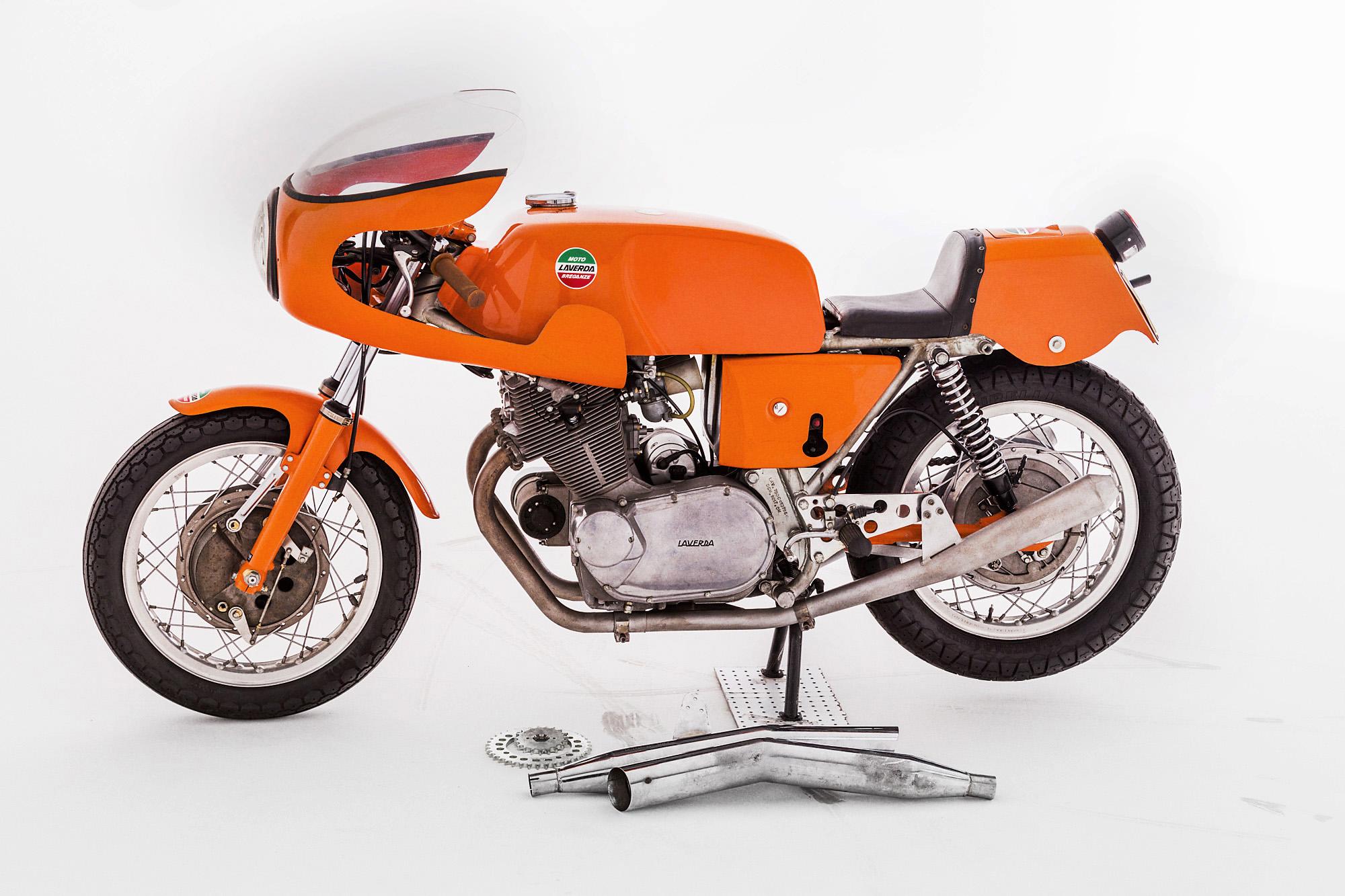 laverda sfc 1972 extra exhaust