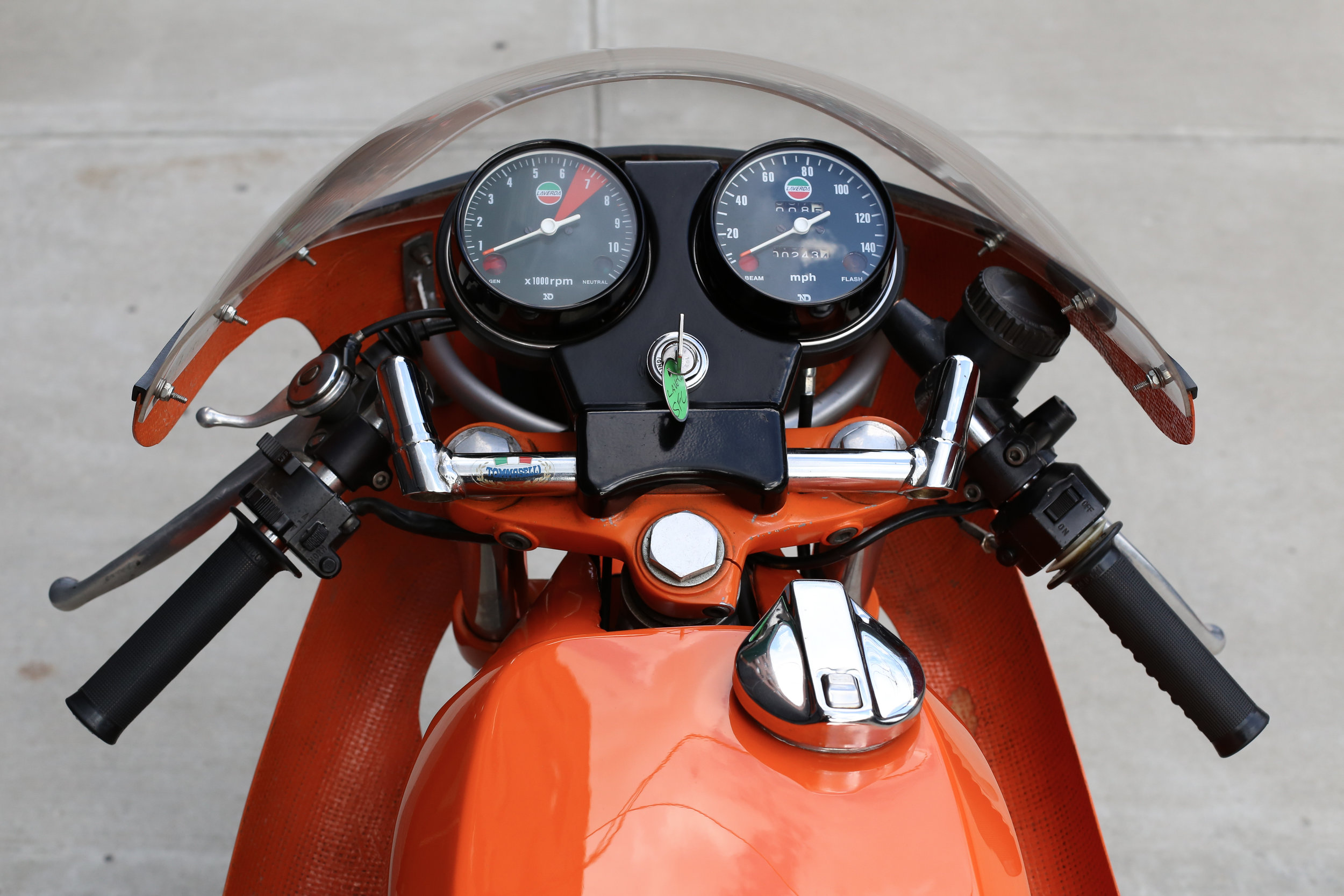 1974 Laverda SFC Gauge