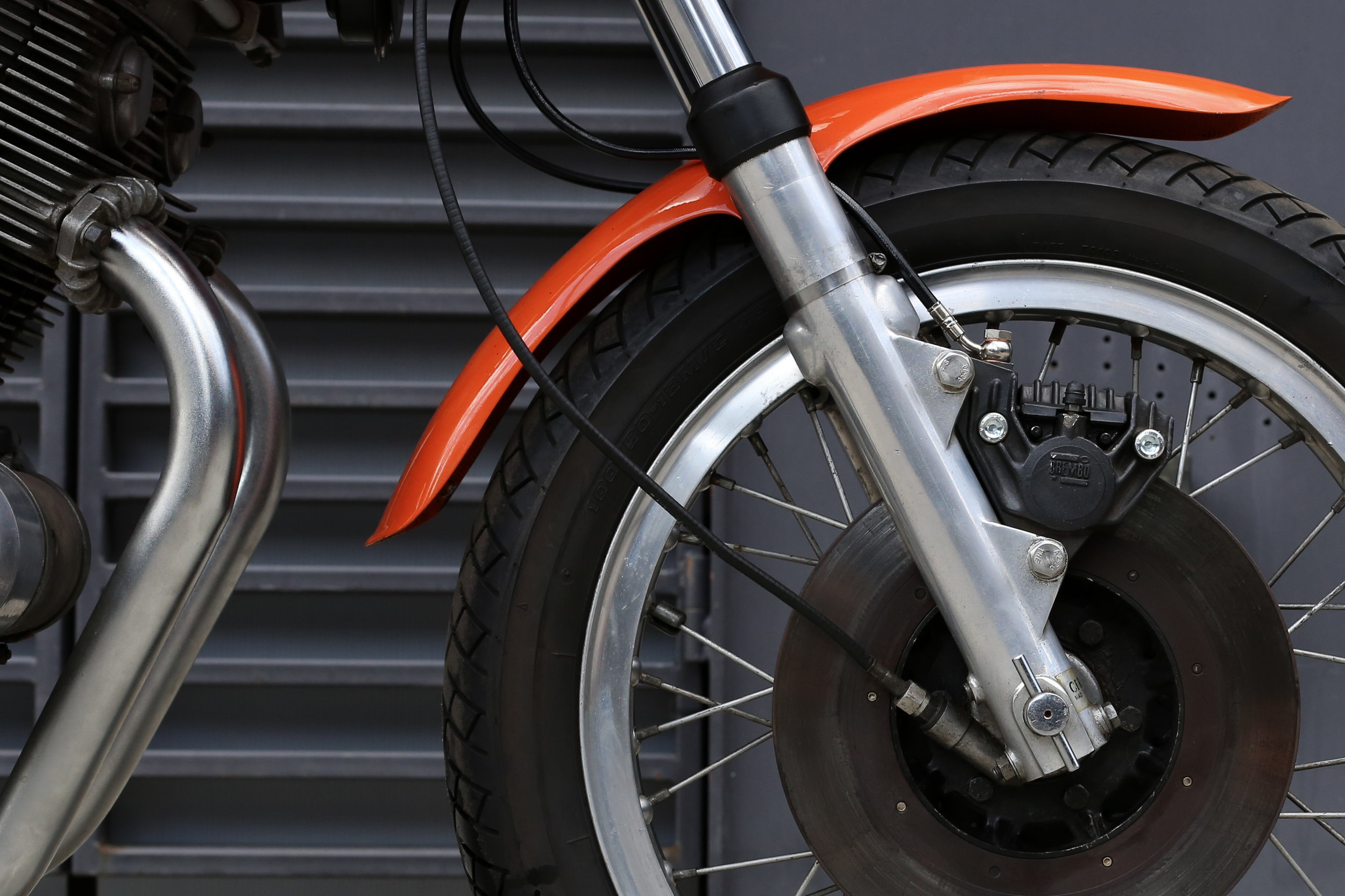 1974 Laverda SFC Front Wheel