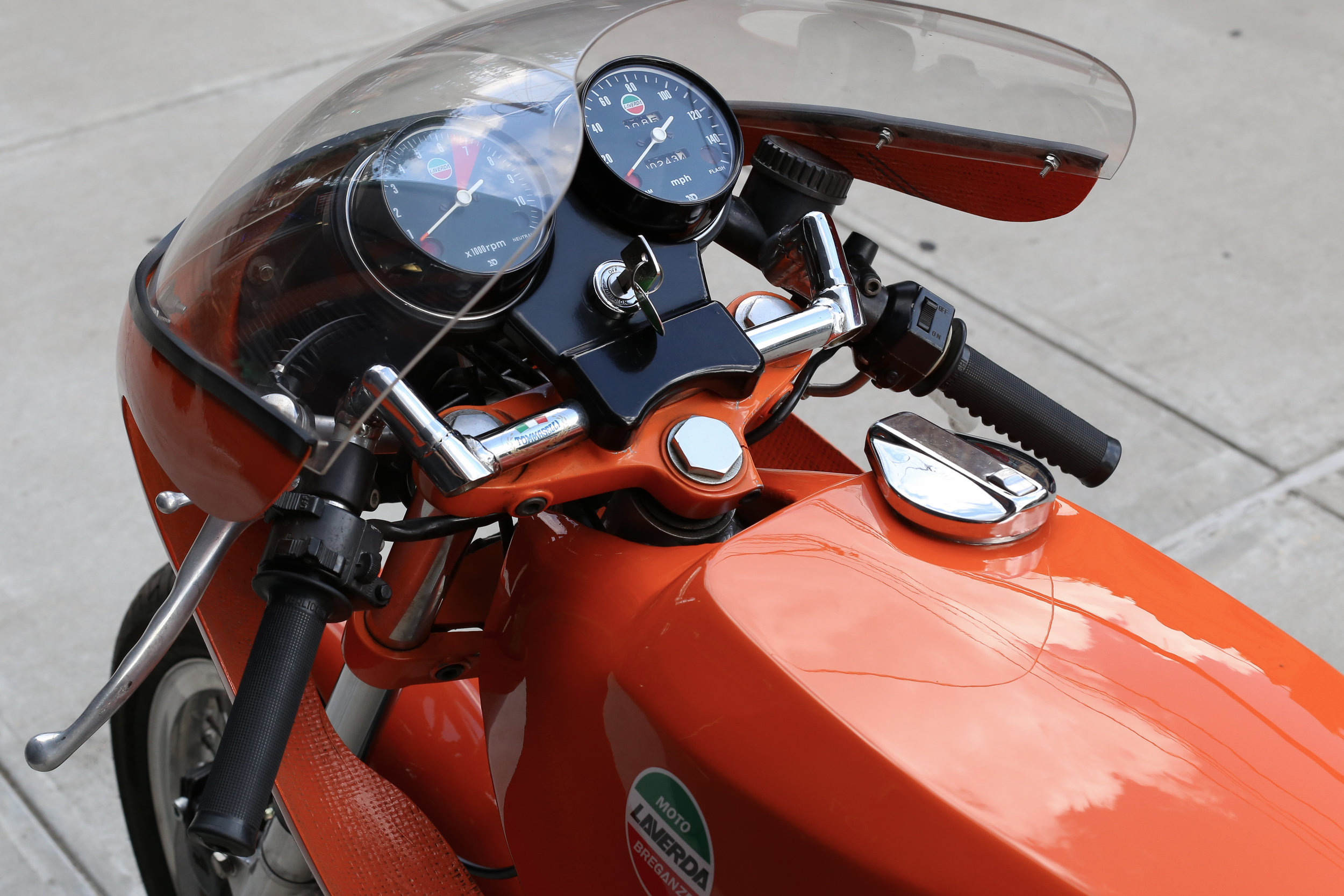 1974 Laverda SFC Gauges