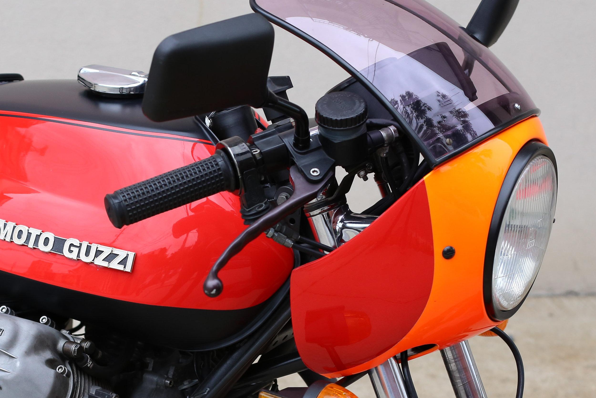 1977 Moto Guzzi Lemans 1 front
