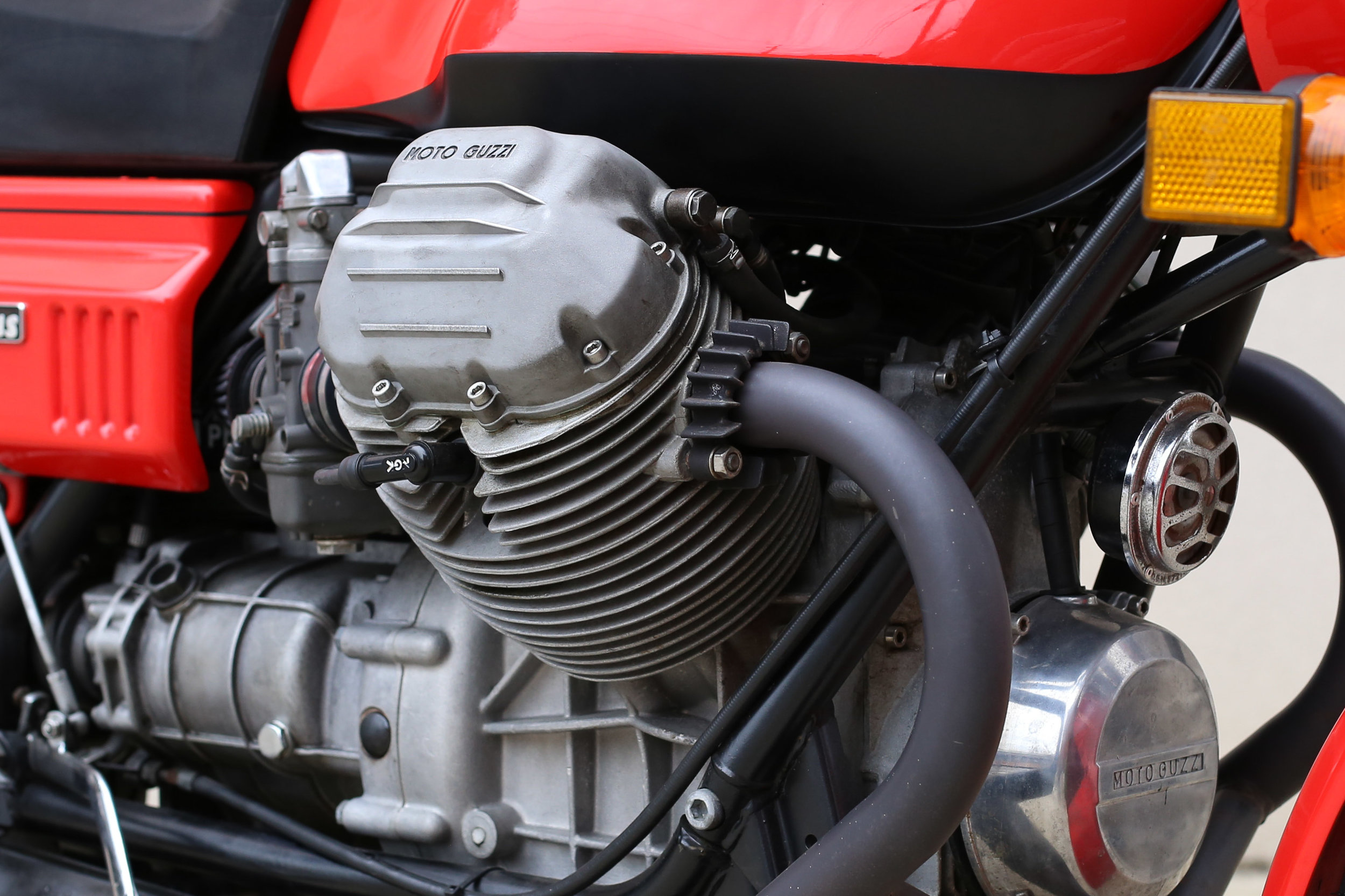 1977 Moto Guzzi Lemans 1 Exhaust