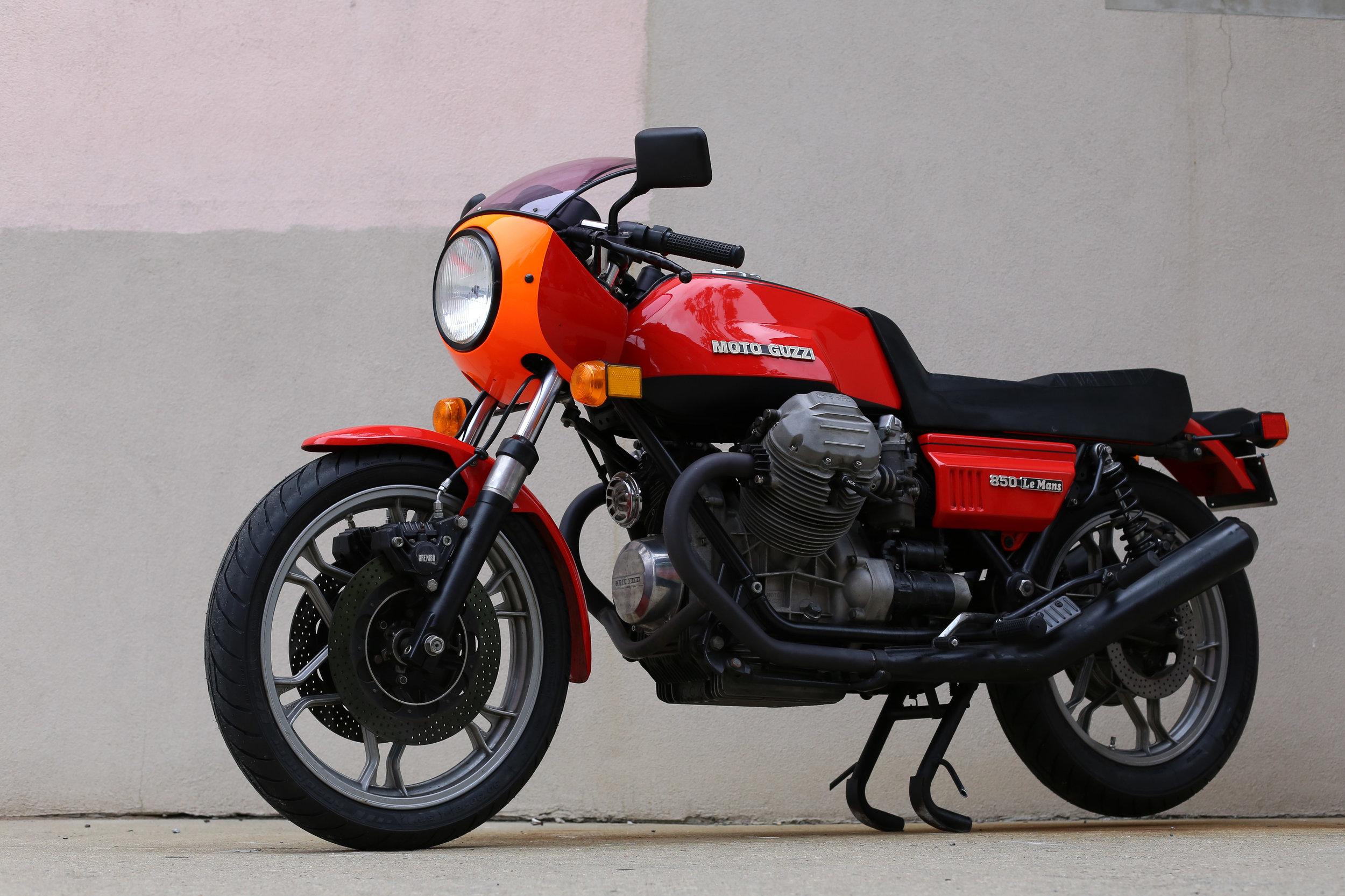 1977 Moto Guzzi Lemans 1