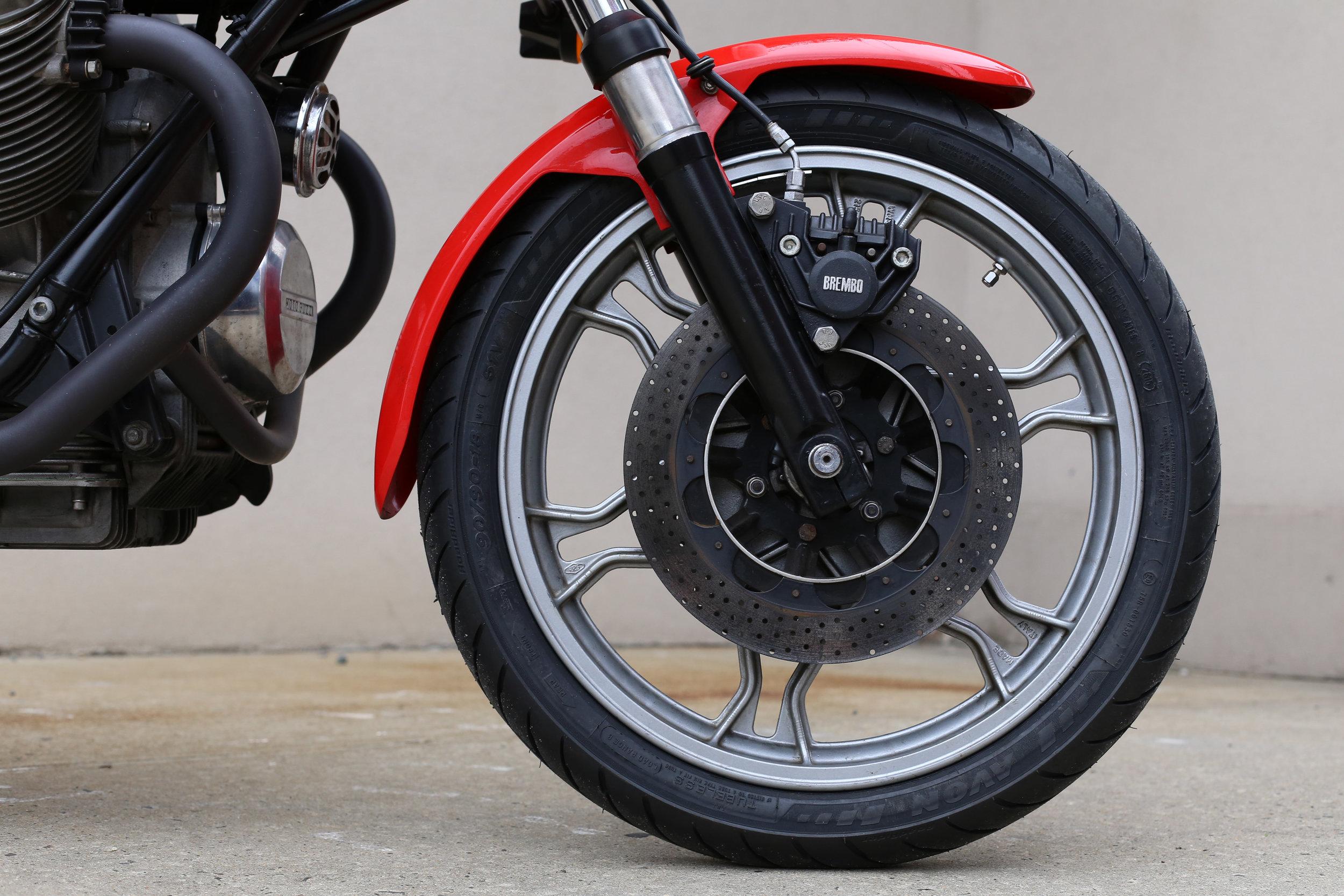 1977 Moto Guzzi Lemans 1 Front Wheel