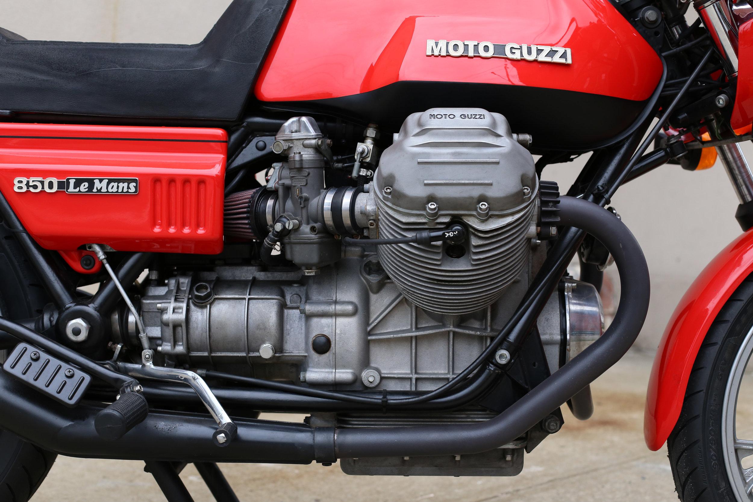 1977 Moto Guzzi Lemans 1 Carbs
